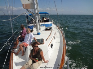 Sailing in Fort Myers Beach